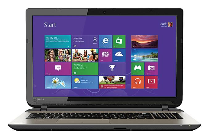 "Toshiba Satellite® L55 Laptop Computer With 15.6"" Screen & 4th Gen Intel® Core™ i3 Processor, B5267"