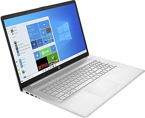 "HP 17-cp0124od Laptop, 17.3"" Screen, AMD Ryzen 3, 8GB Memory, 256 Solid State Drive, Wi-Fi 6, Windows® 10, 33K73UA#ABA"