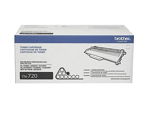 Brother® TN-720 Black Toner Cartridge