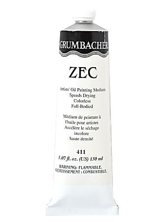 Grumbacher ZEC Colorless Gel Oil Medium, 5.07 Oz