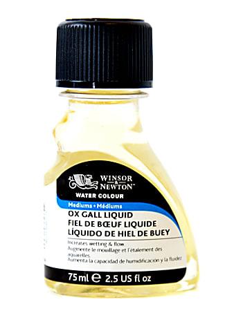 Winsor & Newton Watercolor Ox-Gall Liquid Mediums, 75 mL, Pack Of 2