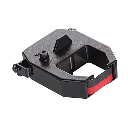 Pyramid™ Time Recorder Replacement Ribbon For 2600 & 6200 Model, Black/Red