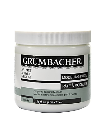 Grumbacher Modeling Paste, 16 Oz
