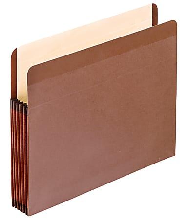 "Pendaflex® Redrope Premium Reinforced File Pockets, 5 1/4"" Expansion, Letter Size"