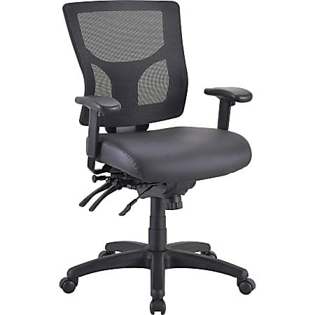 Lorell® Conjure Executive Mid-Back Ergonomic Mesh Chair Frame, Black