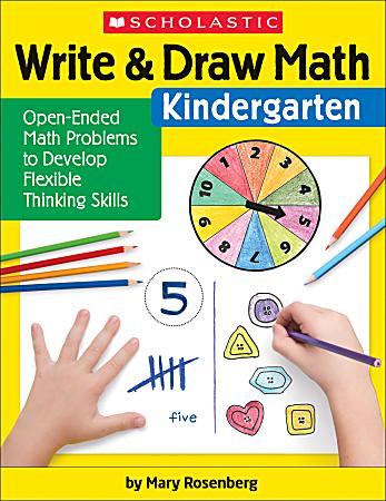 Scholastic® Write & Draw Math: Kindergarten