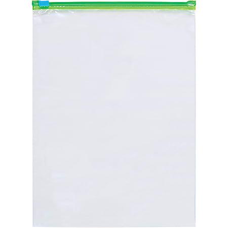 "2.7-Mil Minigrip Slider Grip Reclosable Poly Bags, 9 x 12"", Box Of 250"