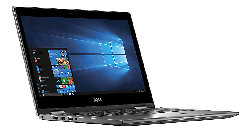 """Dell™ Inspiron 13 5379 2-In-1 Laptop, 13.3"""" Touch Screen, 8th Gen Intel® Core™ i5, 8GB Memory, 1TB Hard Drive, Windows® 10 Professional, i5379-5576GRY-PUS"""
