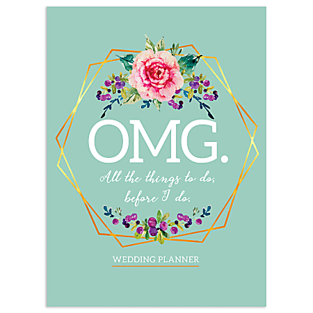 TF Publishing Open Dated OMG Wedding Planner, Blue