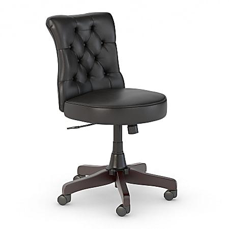Bush Business Furniture Arden Lane Mid-Back Office Chair, Black, Standard Delivery