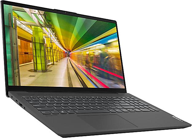 "Lenovo® IdeaPad5 Laptop, 15.6"" Screen, AMD Ryzen 5, 8GB Memory, 256GB Solid State Drive, Wi-Fi 6, Windows® 10, 82LN0001US"