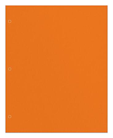 Office Depot® Brand 2-Pocket Paper Folder, Letter Size, Orange