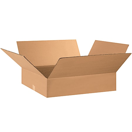 """Office Depot® Brand Corrugated Boxes, 5""""H x 16""""W x 28""""D, Kraft, Pack Of 25"""