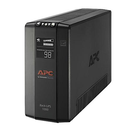 APC® 8-Outlet Uninterruptible Power Supply, 1000VA/600 Watts, BX1000M-LM60