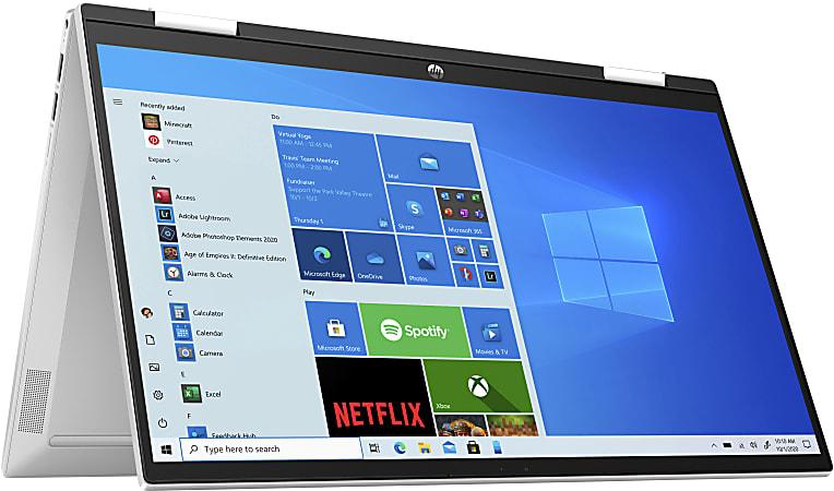"HP Pavilion x360 15-er0125od Convertible Laptop, 15.6"" Touch Screen, Intel® Core™ i5, 8GB Memory, 256GB Solid State Drive, Wi-Fi 6, Windows® 10, 33K70UA#ABA"