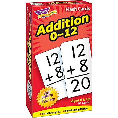 Trend® Skill Drill Flash Cards, Addition, Set Of 91