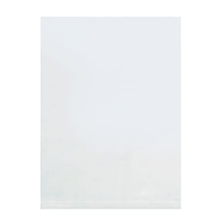 """14"""" x 14"""", 4 Mil Flat Poly Bags, Case Of 500"""