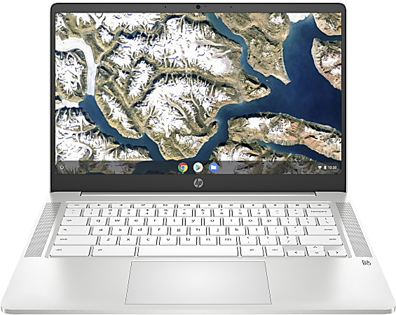"HP 14a-na0010nr Chromebook, 14"" Screen, Intel® Celeron®, 4GB Memory, 32GB eMMC, Google™ Chrome OS, 9LL49UA#ABA"