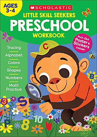 Scholastic® Little Skill Seekers: Preschool Workbook