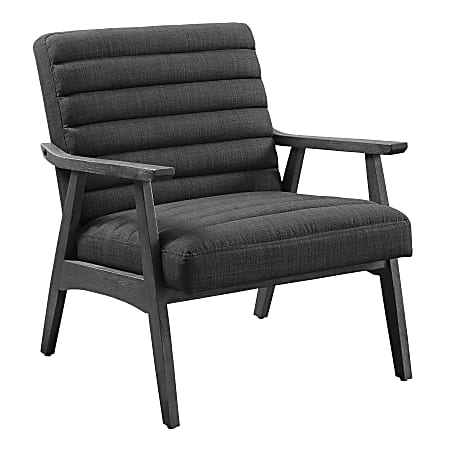 Office Star™ Asher Chair, Charcoal/Gray