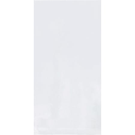 """Office Depot® Brand 1 Mil Flat Poly Bags 6"""" x 30"""", Box of 1000"""