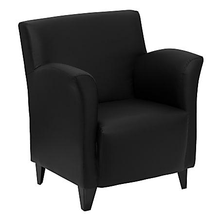 Flash Furniture Hercules Roman Reception Chair, Black