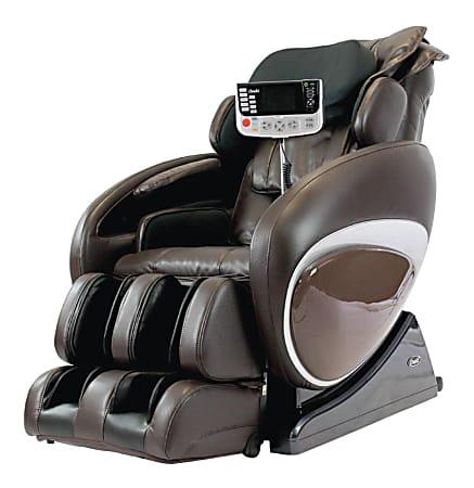 Osaki 4000T Massage Chair, Brown/Black