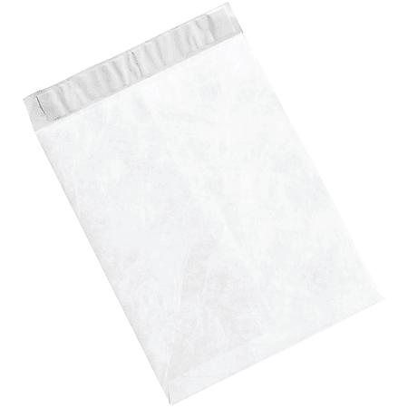 """Office Depot® Brand Tyvek® Flat Envelopes, 9 1/2"""" x 12 1/2"""", White, Case Of 100"""