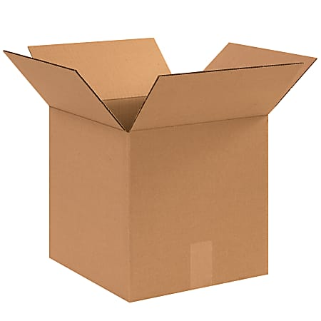 """Office Depot® Brand Corrugated Boxes, 12""""L x 12""""W x 12""""H, Kraft, Pack Of 25"""