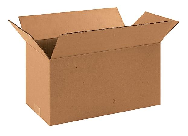 "Office Depot® Brand Corrugated Cartons, 16"" x 8"" x 8"", Kraft, Pack Of 25"