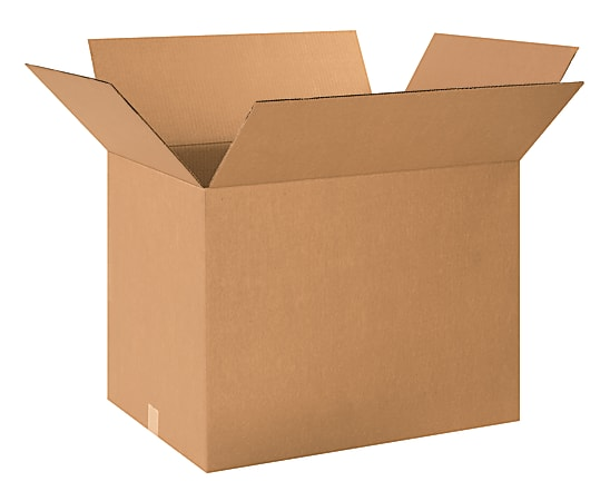 "Office Depot® Brand Corrugated Cartons, 24"" x 18"" x 18"", Kraft, Pack Of 10"