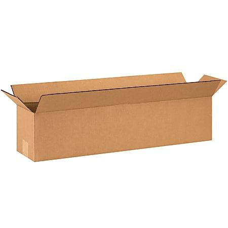 "Office Depot® Brand Long Boxes, 28""L x 6""H x 6""W, Kraft, Pack Of 20"