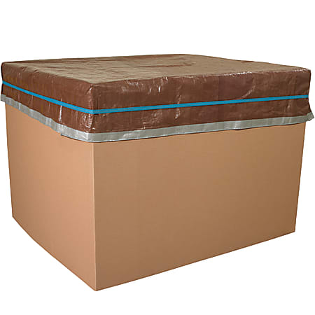 "Office Depot® Brand Pallet Bands, Standard, 3/4"" x 84"", Brown, Pack Of 50"