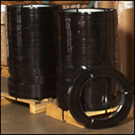 """High-Tensile Steel Strapping, 3/4"""" x .031 Gauge x 1,270'"""