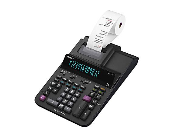Casio® DR-210R Desktop Printing Calculator
