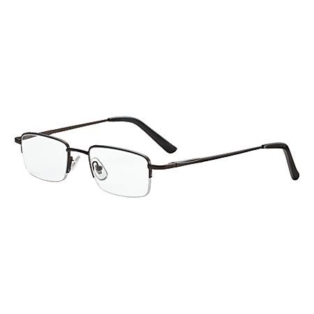 Dr. Dean Edell Tiburon Reading Glasses, +2.00, Titanium