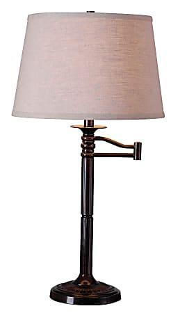 Kenroy Home Table/Floor Lamp, Riverside 1-Light Table Lamp, Copper