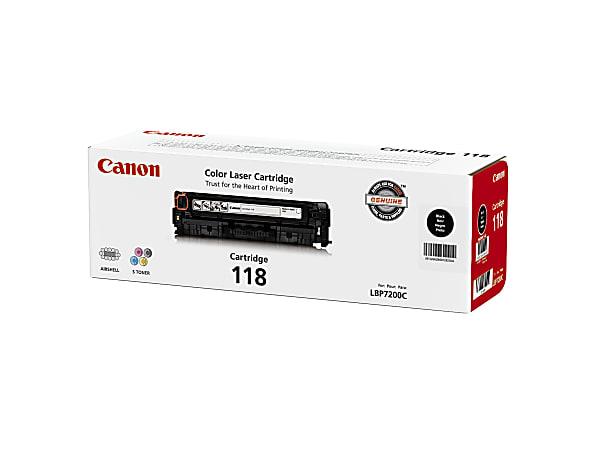 Canon 118, Black Toner Cartridge (2662B001AA)