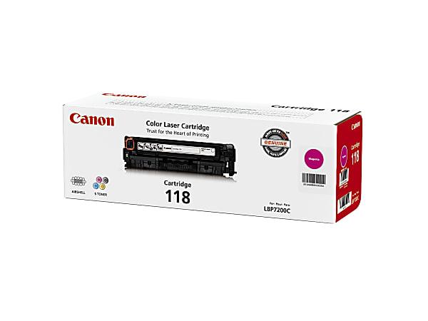 Canon 118, Magenta Toner Cartridge (2660B001AA)