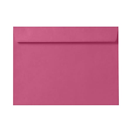 """LUX Booklet Envelopes With Moisture Closure, 6"""" x 9"""", Magenta Pink, Pack Of 1,000"""