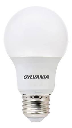 Sylvania A19 800 Lumens LED Bulbs, 8.5 Watt, 5000 Kelvin/Daylight, Pack Of 6 Bulbs