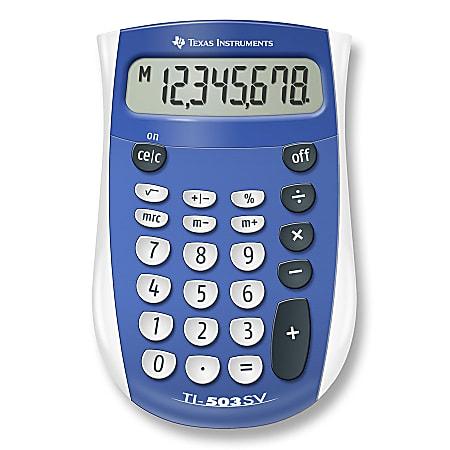 Texas Instruments® TI-503SV Display Calculator
