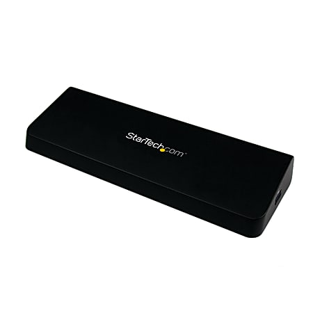 StarTech.com USB 3.0 Docking Station - Windows / macOS Compatible - Supports Dual Displays, HDMI / DisplayPort or 4K Ultra HD on a Single Monitor - USB3DOCKHDPC - Dual Monitor Docking Station - HDMI and DisplayPort Ports - 4K Ultra HD on One Monitor