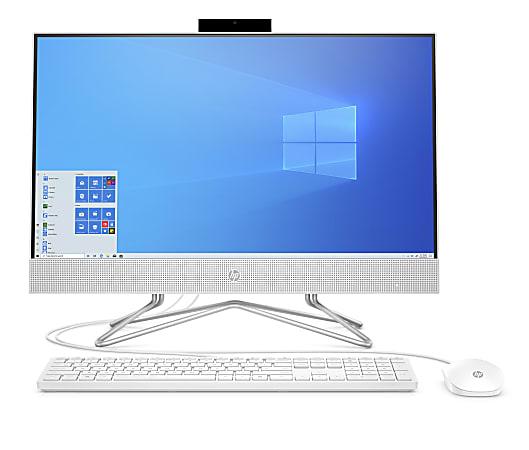 "HP 24-df0076 All-in-One Desktop PC, 23.8"" Touch Screen, AMD Ryzen™ 5, 8GB Memory, 1TB Hard Drive, Windows® 10 Home"