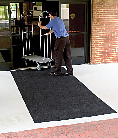 Brush Hog Floor Mat, 6' x 8', Charcoal Brush