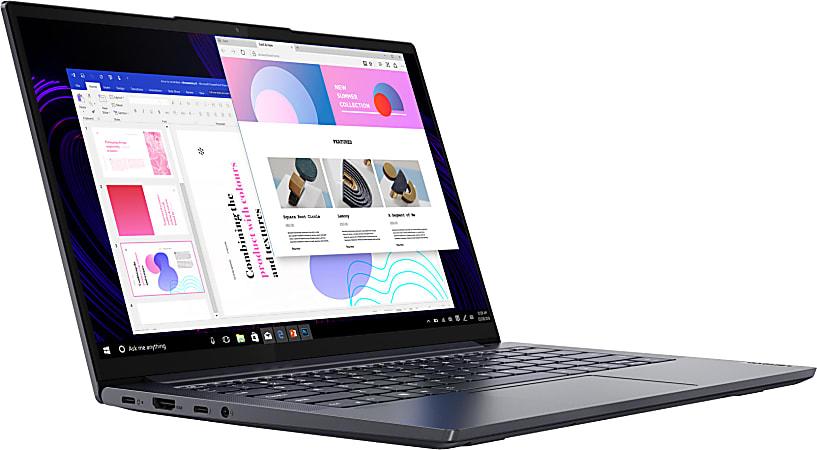 "Lenovo® IdeaPad Slim 7i Laptop, 14"" Screen, Intel® Core™ i7, 16GB Memory, 512GB Solid State Drive, Wi-Fi 6, Windows® 10, 82A6000KUS"