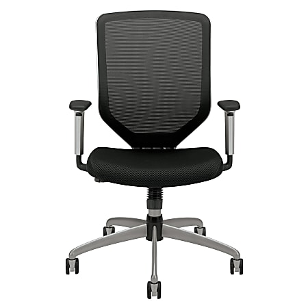HON® Boda™ High-Back Mesh Task Chair, Black