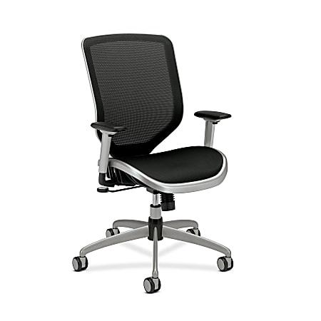HON® Boda™ High-Back Ergonomic Mesh Task Chair, Black