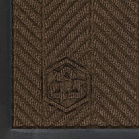 WaterHog Floor Mat, Eco Elite, 3' x 20', Chestnut Brown
