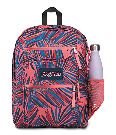 "JanSport® Big Student Backpack With 15"" Laptop Pocket, Dotted Palm"